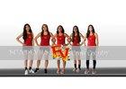 Espanola Valley Sundevils Girls Varsity Cross Country Fall 18-19 team photo.