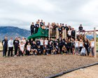Volcano Vista Hawks Girls Varsity Cross Country Fall 18-19 team photo.