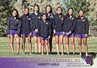 Kirtland Central Broncos Girls Varsity Cross Country Fall 18-19 team photo.