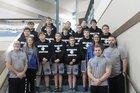 Bismarck Lions Boys Varsity Wrestling Fall 16-17 team photo.