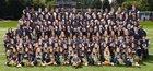Bellevue Wolverines Boys Varsity Football Fall 14-15 team photo.