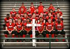 Cornerstone Spartans Boys Varsity Football Fall 14-15 team photo.