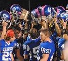 Cherryvale Chargers Boys Varsity Football Fall 14-15 team photo.