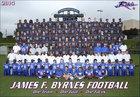 Byrnes Rebels Boys Varsity Football Fall 14-15 team photo.