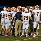 Berean Christian Bulldogs Boys Varsity Football Fall 14-15 team photo.