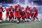 Skyline Raiders Boys Varsity Football Fall 14-15 team photo.