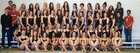 Loveland Indians Girls Varsity Swimming Winter 18-19 team photo.