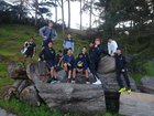 Archbishop Mitty Monarchs Boys Varsity Tennis Spring 17-18 team photo.