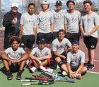 Paloma Valley Wildcats Boys Varsity Tennis Spring 17-18 team photo.