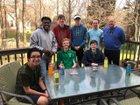 Ashbrook Green Wave Boys Varsity Tennis Spring 17-18 team photo.
