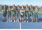 Mayfield Trojans Boys Varsity Tennis Spring 17-18 team photo.