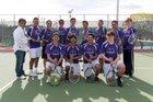 Miyamura Patriots Boys Varsity Tennis Spring 17-18 team photo.