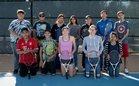 Capital Jaguars Boys Varsity Tennis Spring 17-18 team photo.