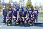 Hiram Hornets Boys Varsity Tennis Spring 17-18 team photo.