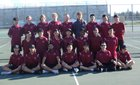 Laguna Creek Cardinals Boys Varsity Tennis Spring 17-18 team photo.
