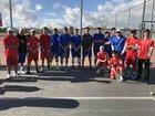Firebaugh Eagles Boys Varsity Tennis Spring 17-18 team photo.