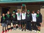 Farmington Scorpions Boys Varsity Tennis Spring 17-18 team photo.