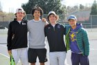 Broughton Capitals Boys Varsity Tennis Spring 17-18 team photo.