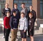 Providence Hall Patriots Boys Varsity Tennis Spring 17-18 team photo.