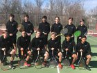 Salisbury Hornets Boys Varsity Tennis Spring 17-18 team photo.
