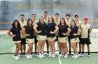 Hobbs Eagles Boys Varsity Tennis Spring 17-18 team photo.