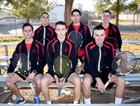 New Mexico Military Institute Colts Boys Varsity Tennis Spring 17-18 team photo.