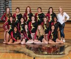 Capital Cougars Girls Varsity Gymnastics Winter 18-19 team photo.