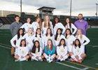 Salinas Cowboys Girls JV Soccer Winter 17-18 team photo.