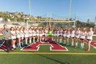 Laguna Beach Breakers Girls JV Soccer Winter 17-18 team photo.