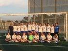 Eastlake Titans Girls JV Soccer Winter 17-18 team photo.