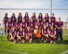Lee Ganders Girls JV Soccer Winter 17-18 team photo.