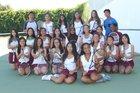 Florin Panthers Girls Varsity Tennis Fall 17-18 team photo.