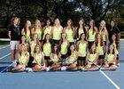 Rio Americano Raiders Girls Varsity Tennis Fall 17-18 team photo.