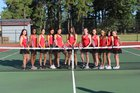 Hoke County Bucks Girls Varsity Tennis Fall 17-18 team photo.