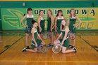 North Rowan Cavaliers Girls Varsity Tennis Fall 17-18 team photo.
