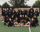 Ukiah Wildcats Girls Varsity Tennis Fall 17-18 team photo.
