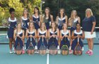 Voyager Academy Vikings Girls Varsity Tennis Fall 17-18 team photo.