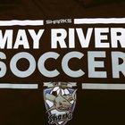 May River Sharks  Boys Varsity Soccer Spring 16-17 team photo.