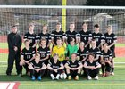 South Kitsap Wolves Boys Varsity Soccer Spring 16-17 team photo.
