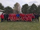 South Sioux City Cardinals Boys Varsity Soccer Spring 16-17 team photo.