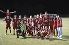 Strom Thurmond Rebels Boys Varsity Soccer Spring 16-17 team photo.