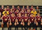 Mountain View Bruins Boys Varsity Soccer Spring 16-17 team photo.