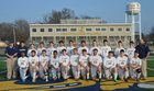 Wynne Yellowjackets Boys Varsity Soccer Spring 16-17 team photo.