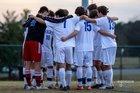 St. Joseph's Catholic Knights Boys Varsity Soccer Spring 16-17 team photo.
