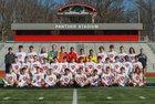 Cabot Panthers Boys Varsity Soccer Spring 16-17 team photo.