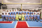 Southside Mavericks Boys Varsity Soccer Spring 16-17 team photo.
