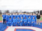 West Memphis Blue Devils Boys Varsity Soccer Spring 16-17 team photo.