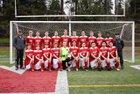 King's Knights Boys Varsity Soccer Spring 16-17 team photo.