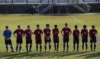 Carolina Forest Panthers Boys Varsity Soccer Spring 16-17 team photo.