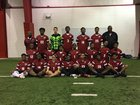 Pine Bluff Zebras Boys Varsity Soccer Spring 16-17 team photo.